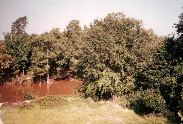 The Leaf River, where Newt Knight and his band of men hid out during the Civil War