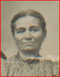 George Ann Knight, daughter of Rachel Knight. Collection of Yvonne Bivins