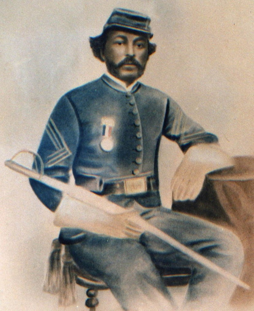 During the Civil War, Parker fought for the Union with the 2nd Cavalry of U.S. Colored Troops. Photo courtesy Benj. Gary Robbins and Marvin T. Jones