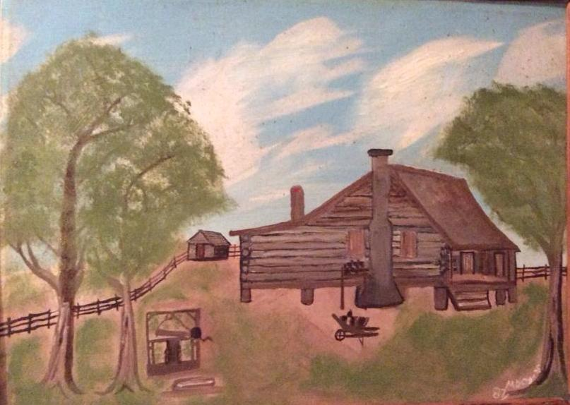 Amos and Laura Coats Home. By Maxwell Coats
