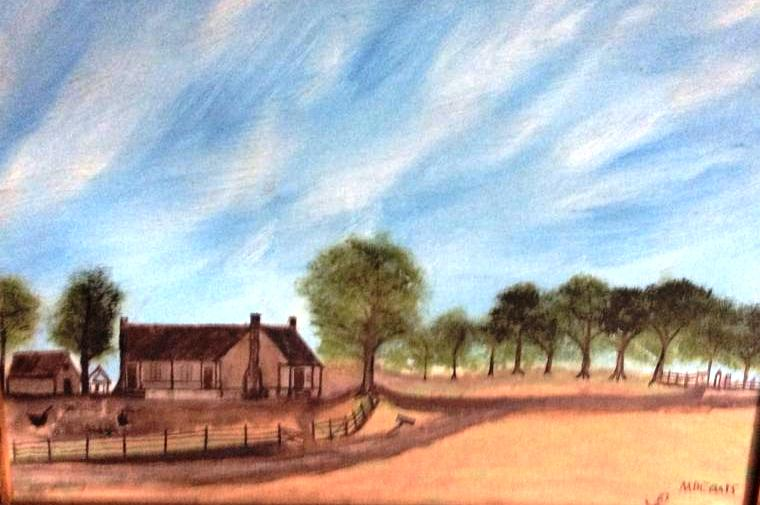 newt knight home painting