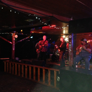 """Dr. G and the Mudcats performing """"Jones County Jubilee"""" at Cheatham Street Warehouse, San Marcos, TX, January 3, 2015"""