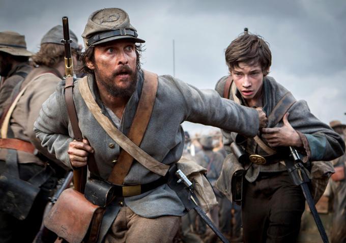 Matt McConaughey as Newt Knight