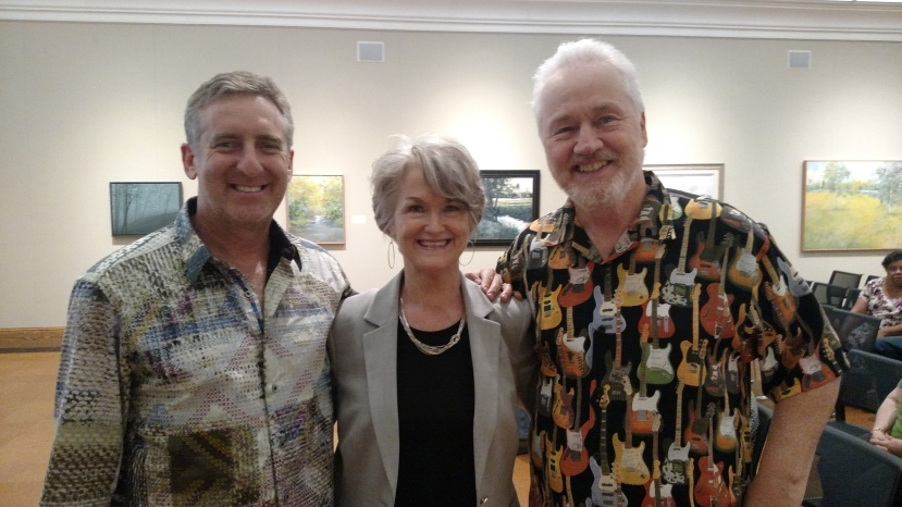 Gregg and I with William Harris (on the left), the evening's photographer
