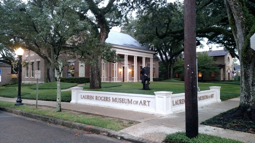 The beautiful Lauren Rogers Museum, Laurel, Mississippi