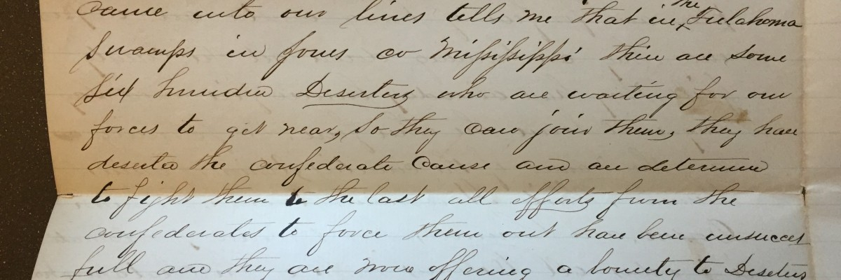 an important archival discovery 1864 letter describes free state of