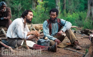 Matthew McConaughey as Newt Knight; Mahershala Ali as Moses Washington. From the movie Free State of Jones