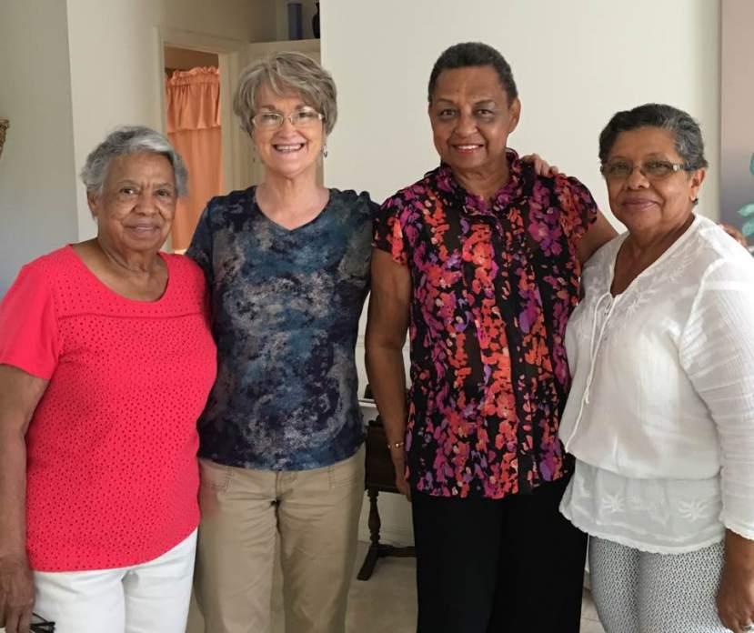 Florence Blaylock, Vikki Bynum, Olga Nelson, Dorothy Marsh. Soso, MS, 9-15-16
